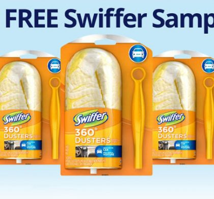 FREE Swiffer Samples (US Only)