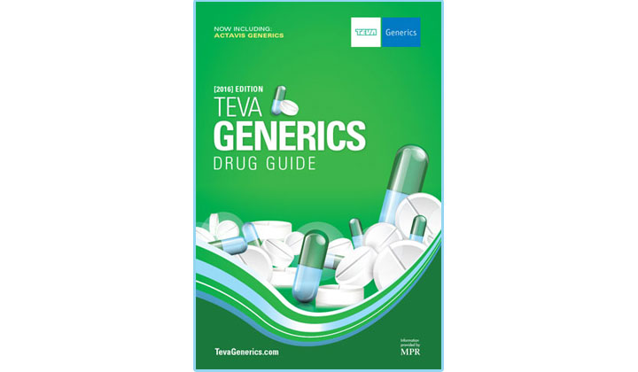 FREE Teva Generics Drug Guide – 2017 Edition (US, UK & CA Only)
