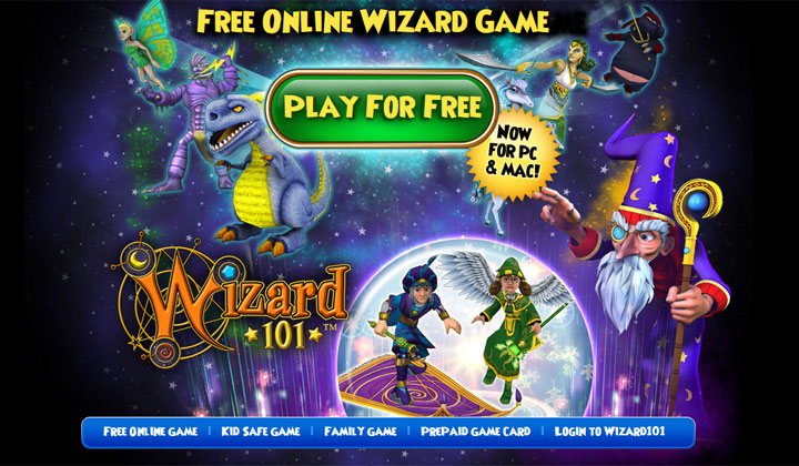 FREE Wizard 101 Game