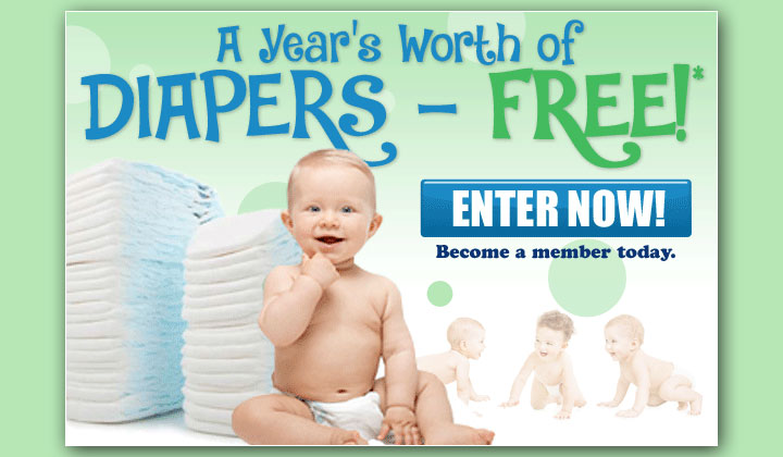 FREE Baby Diaper Samples (US Only)