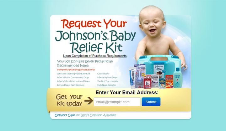 Johnson's Baby Relief Kit – One Field