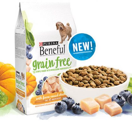 Purina Beneful Grain Free Dog Food Sample