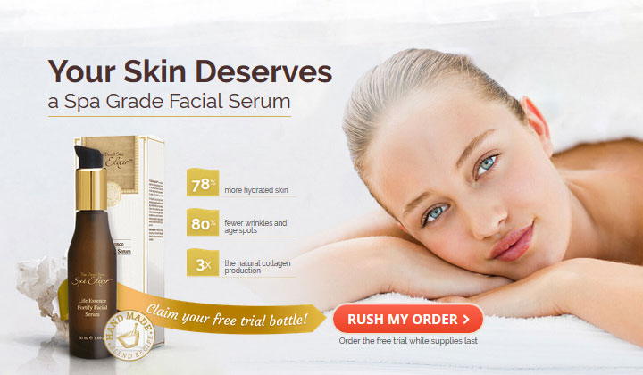 The Dead Sea Spa Elixir – Trial (US, UK, CA, AU & NZ Only)