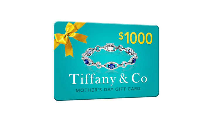 Get $1000 in Tiffany & Co Gift Cards for Mother's Day – One Field (US Only)