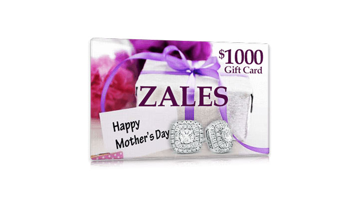 Get $1000 in Zales Gift Cards for Mother's Day – One Field (US Only)