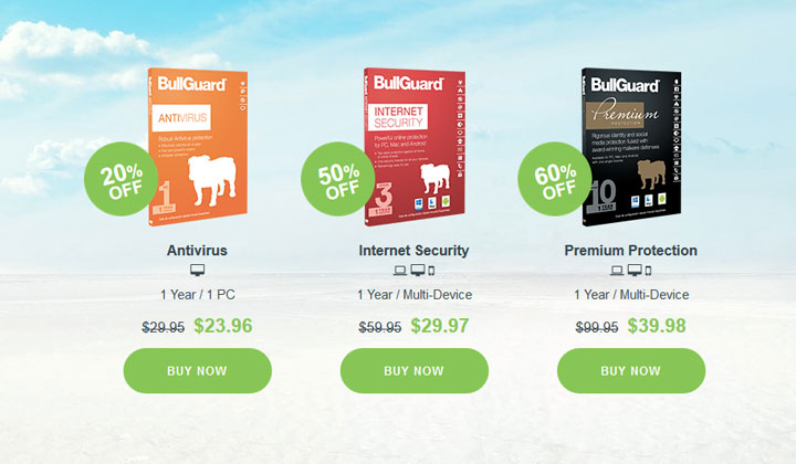 BullGuard Antivirus – Sale (60% OFF)