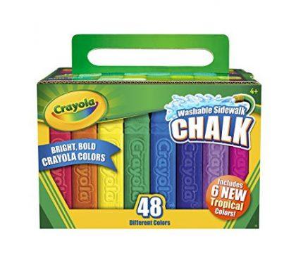 FREE Crayola Sidewalk Chalk (US Only)