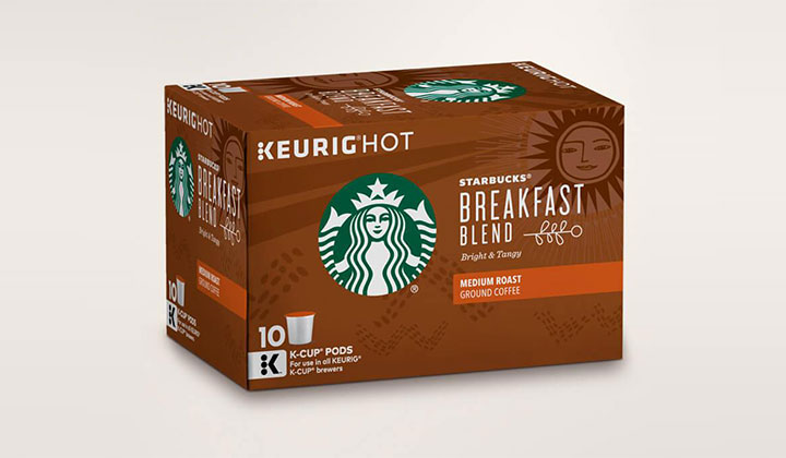 K-Cup Tasting Flight Sample Pack at Starbucks (US Only)