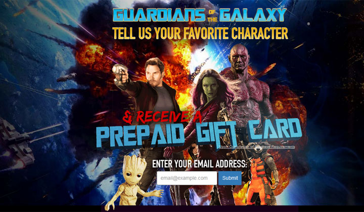 Guardians of the Galaxy – One Field (US Only)