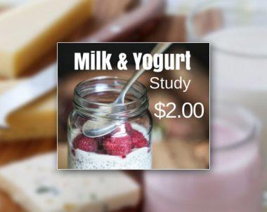 Milk and Yogurt Study (US Only)