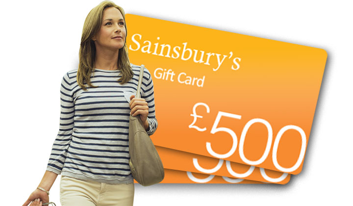 Sainsbury's Gift Card – WinShopVouchers (UK Only)