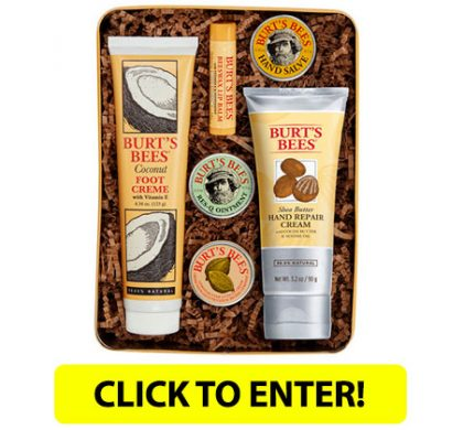 WIN A Burt's Bees Classic Gift Set (US Only)
