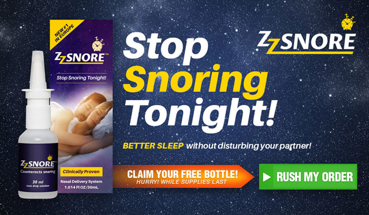 ZZ Snore Free Bottle Offer Today! (US Only)