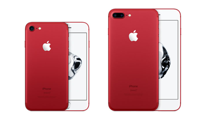 Get a iPhone 7 RED Special Edition – One Field (US Only)