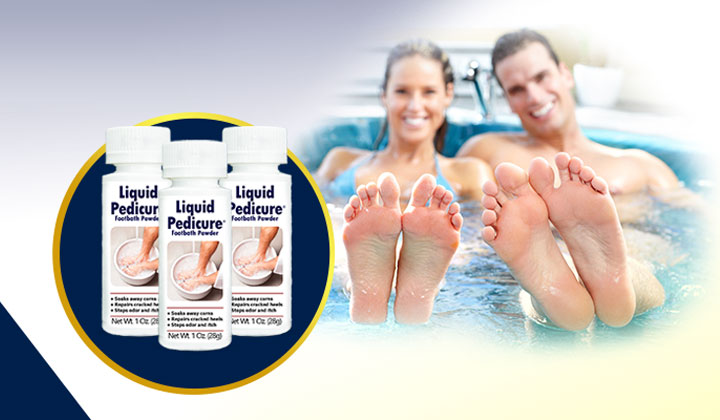 FREE Liquid Pedicure Foot Bath Powder Sample (US Only)