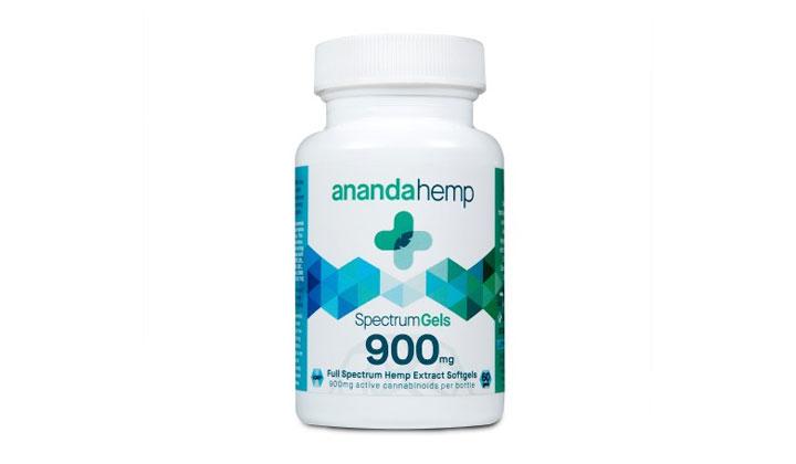 Ananda Hemp Spectrum Gels 900 (US Only)