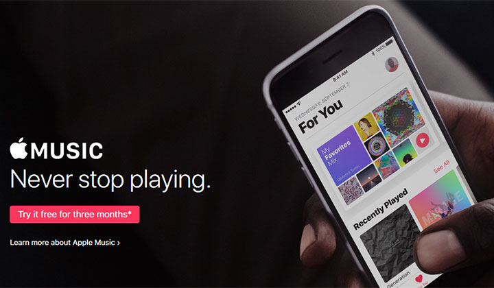 Apple Music Sign Up – iOS (US Only)