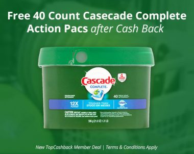 FREE Cascade Complete Action Pacs (US Only)