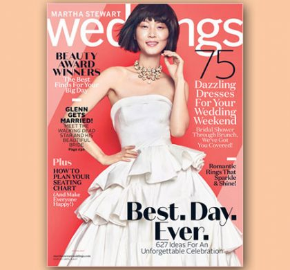 FREE Martha Stewart Weddings Subscription (US Only)