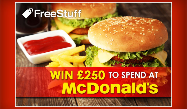 FREE McDonald's Gift Card (UK Only)