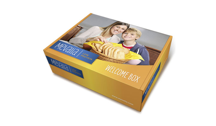 FREE Welcome Pack of Low Protein Snacks from Mevalia (US Only)