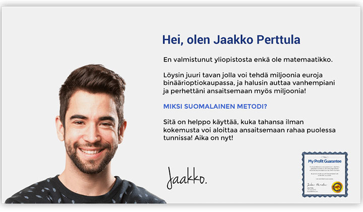 Finnish Method – Deposit ( Finland Only)
