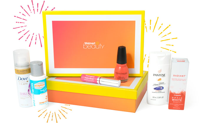 Walmart Beauty Box Summer 2017 for $5 Shipped! (US Only)