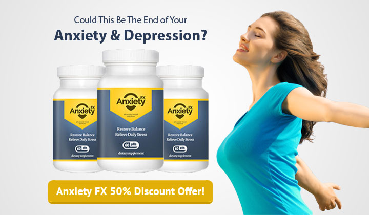 Anxiety FX –  Up to 50% Off