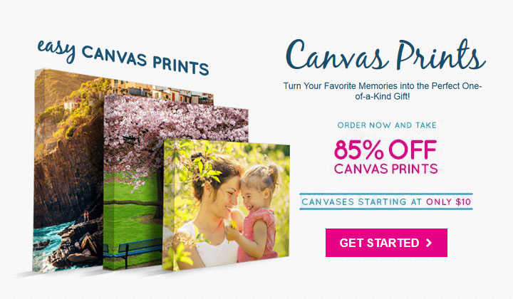 Canvas Print Sale – 85% OFF (US Only)
