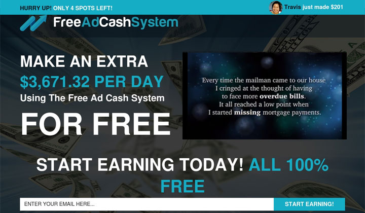 FREE Ad Cash System (US & CA Only)