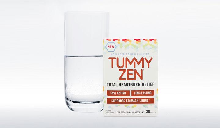 FREE TummyZen Total Heartburn Relief Sample