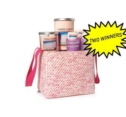 Win A Yankee Candle Pinks Sand Tote Gift Set (US Only)