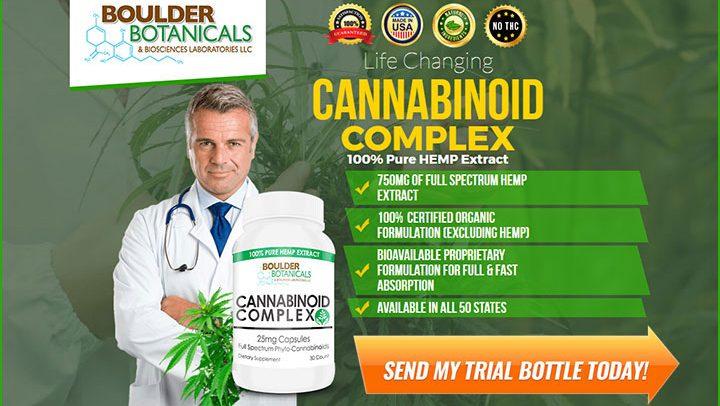 Boulder Botanicals Cannabinoid Complex Trial