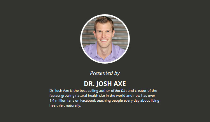 Dr. Axe – Healing Leaky Gut – Free Webinar (US Only)