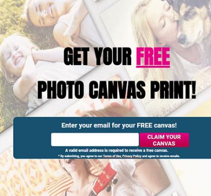 Easy Canvas Prints – FREE 8×8