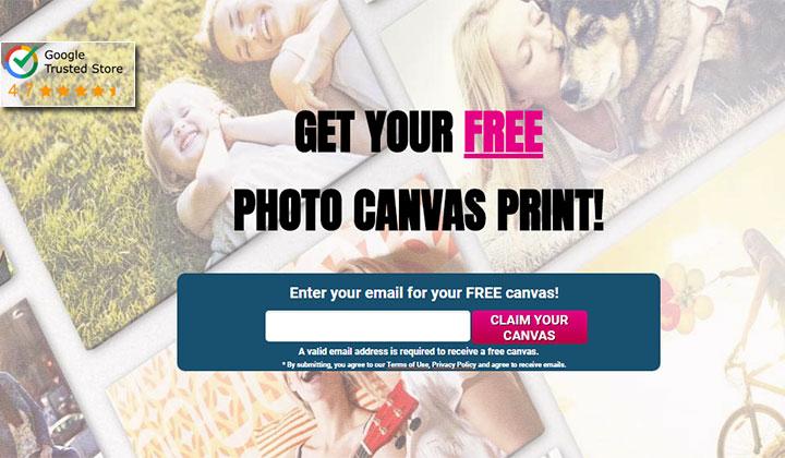 Easy Canvas Prints – FREE 8×8