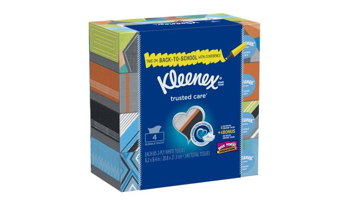 FREE 6 Pack of Kleenex Tissues from Walmart