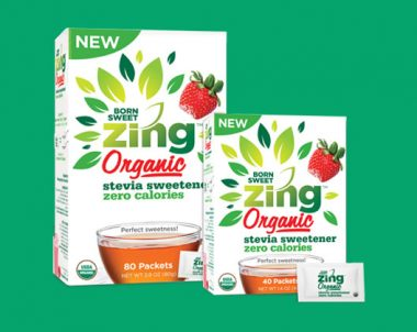 FREE Born Sweet Zing Organic Stevia Sweetener Sample (US Only)