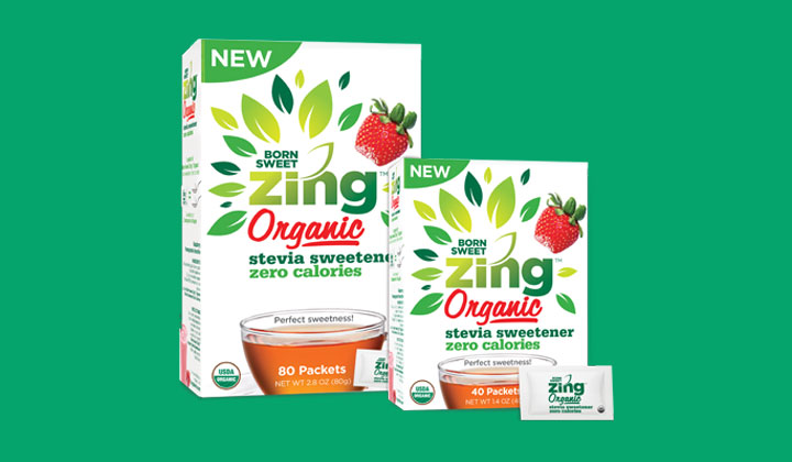 FREE Born Sweet Zing Organic Stevia Sweetener Sample (US Only)