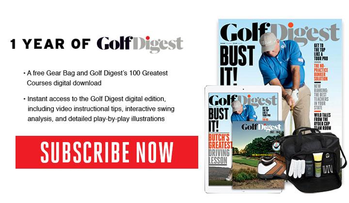 FREE Golf Digest Magazine Subscription!
