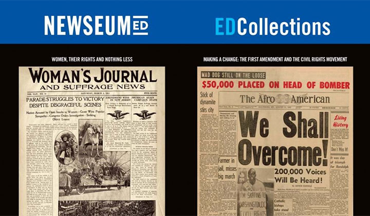 FREE Headlines That Changed History' Poster (US Only)