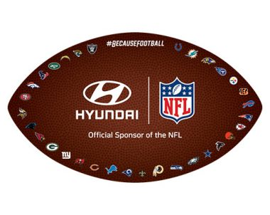 FREE Hyundai NFL Window Cling (US Only)