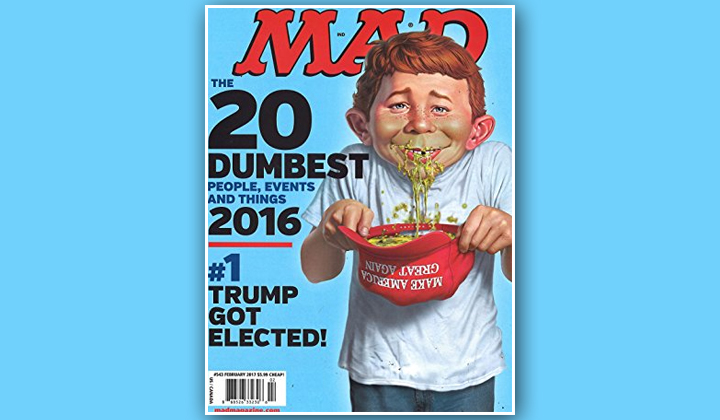 FREE Mad Magazine Subscription (US Only)