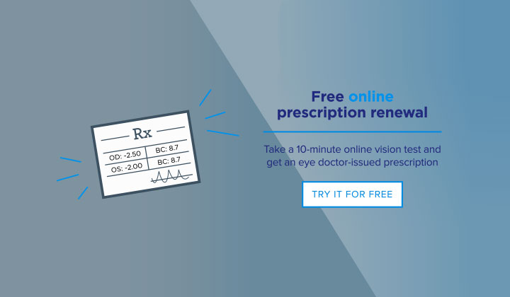 1-800 Contacts Free Contact Lens Prescription $40 value (US Only)