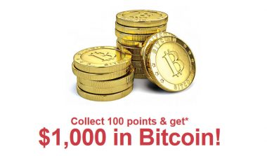 Get $1000 in Bitcoin – One Field