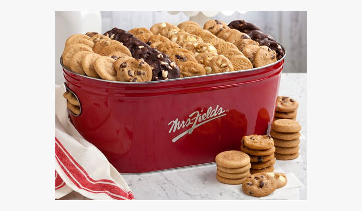 Mrs. Fields Signature Tub of Cookies Giveaway (US Only)