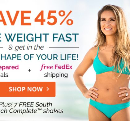 South Beach Diet – 45% OFF