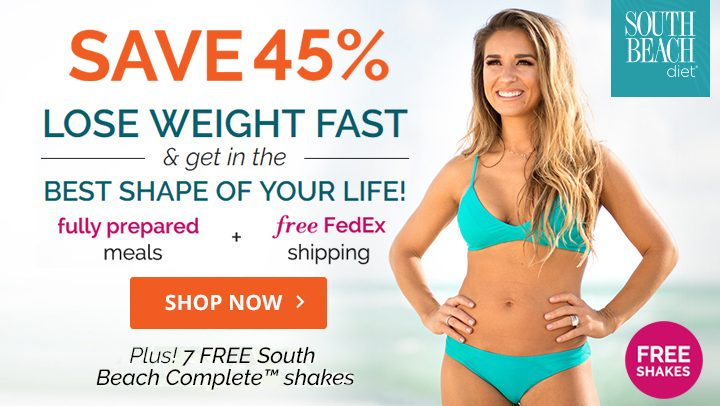 South Beach Diet – 45% OFF