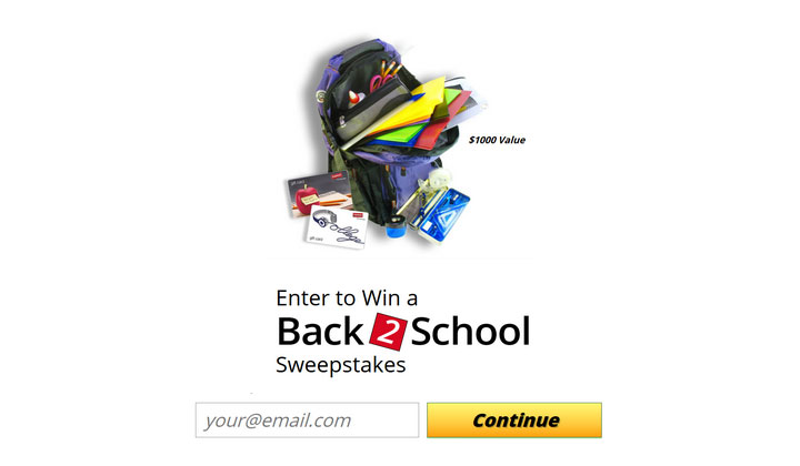 Win $1000 for Back to School – One Field – INCENT (US Only)