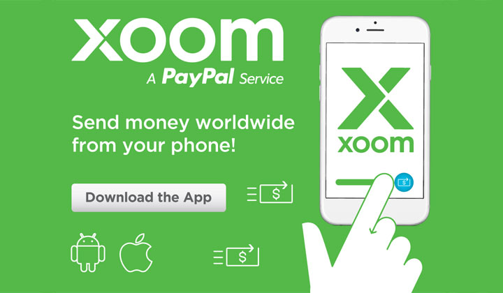 Xoom Money Transfer App